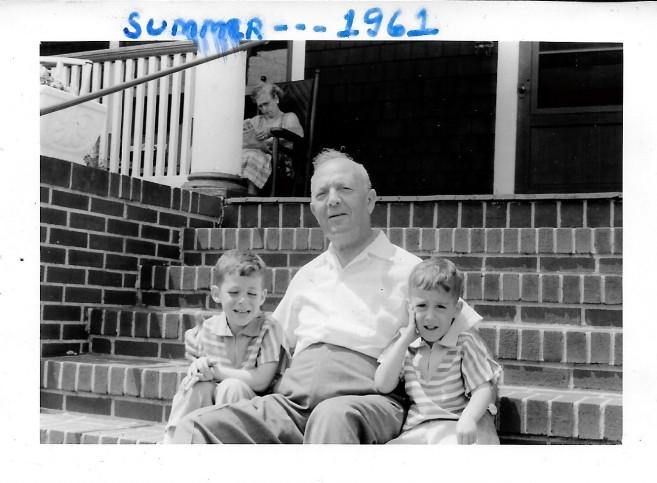 Grandpa George Rockaway 1961